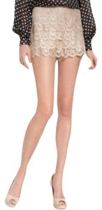 Haute Hippie Dress Shorts Beige