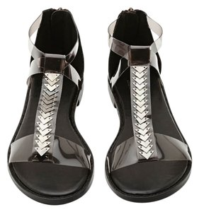 21993a7950b Nasty Gal Bermuda Size 8.5 Vegan Cult Collection Sale Black Sandals