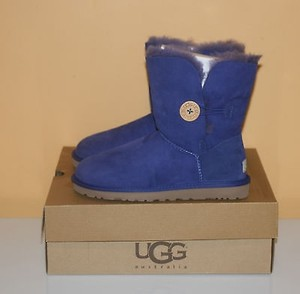 UGG Australia Bailey Button Womens Blue Boots