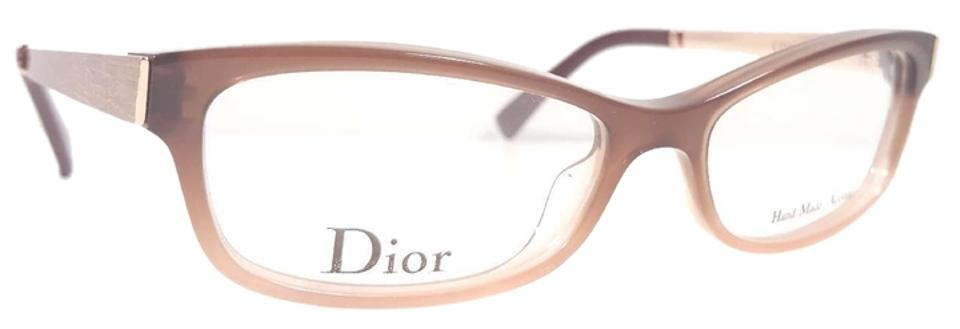 e6a9a8d7a7e7 Dior CHRISTIAN DIOR CD3251 Eyeglasses Color 4X7 Brown Rose Gold ~ Size 50mm  Image 0 ...