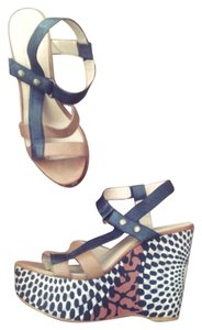 Rachel Roy Tribal Print Wedges
