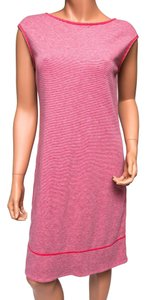 Tommy Bahama short dress Pink Striped Gray on Tradesy