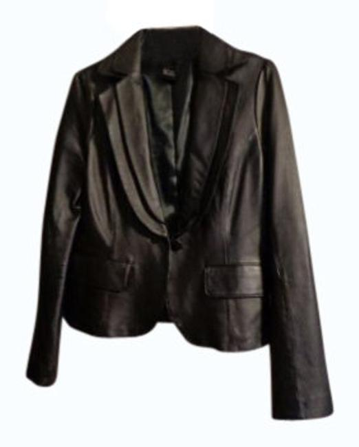 Preload https://item5.tradesy.com/images/arden-b-black-leather-blazer-size-12-l-11584-0-0.jpg?width=400&height=650