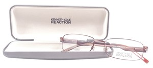 Kenneth Cole KENNETH COLE REACTION KC701 Eyeglasses Color 048 Shiny Brown ~ Size 53 mm