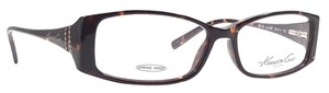 Kenneth Cole KENNETH COLE NY KC148 Eyeglasses Color 052 Tortoise ~ Size 53 mm