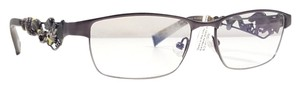 Ed Hardy ED HARDY EHO 702 Eyeglasses Color Antique Pewter Gunmetal ~ Size 52 mm