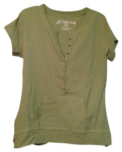 Other Button Down Shirt Green