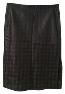 Guess Pencil Skirt Brown and black