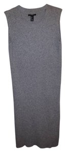 Gray Maxi Dress by Forever 21 Knit Turtleneck