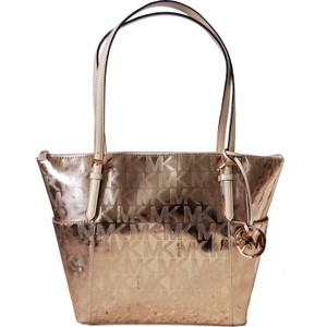 Michael Kors East West Tote in Rose Gold
