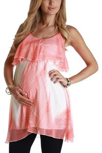 PinkBlush Pink Blush Orange & Cream Paradise Maternity Tunic
