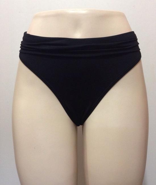 Kenneth Cole Reaction SWIMSUIT BOTTOMS S NWT KENNETH COLE BLACK SASH HIPSTER BIKINI $50