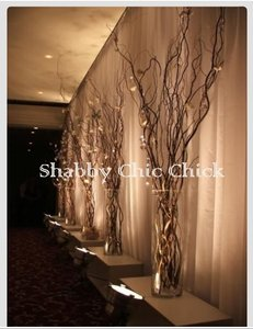 Shabby Apple 25 Lighted Branches (5 Sets Of 5) Free Shipping