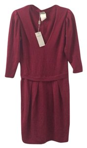 Philosophy di Alberta Ferretti short dress Maroon on Tradesy