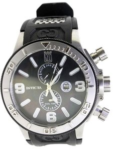 Invicta Jason Taylor for Invicta Collection 13687 Black Mother-Of-Pearl Dial Black Polyurethane Watch