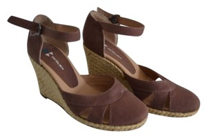 Daniblack Brown Wedges