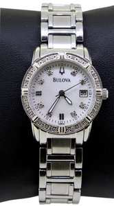 Bulova BULOVA C637530 STAINLESS STEEL DIAMOND MOP DIAL WOMEN WATCH