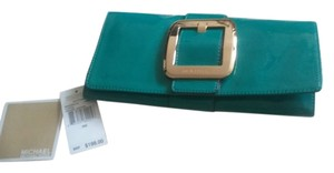 Michael Kors aqua Clutch