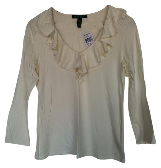 Ralph Lauren Fall Top Ivory Image 0