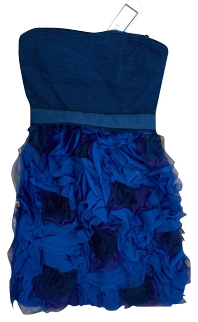 Preload https://img-static.tradesy.com/item/11590093/bcbgmaxazria-navy-bluedark-ink-strapless-organza-rosette-skirt-mini-cocktail-dress-size-0-xs-0-1-650-650.jpg