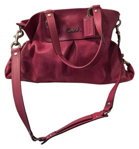 Coach Mauve Pink Messenger Bag