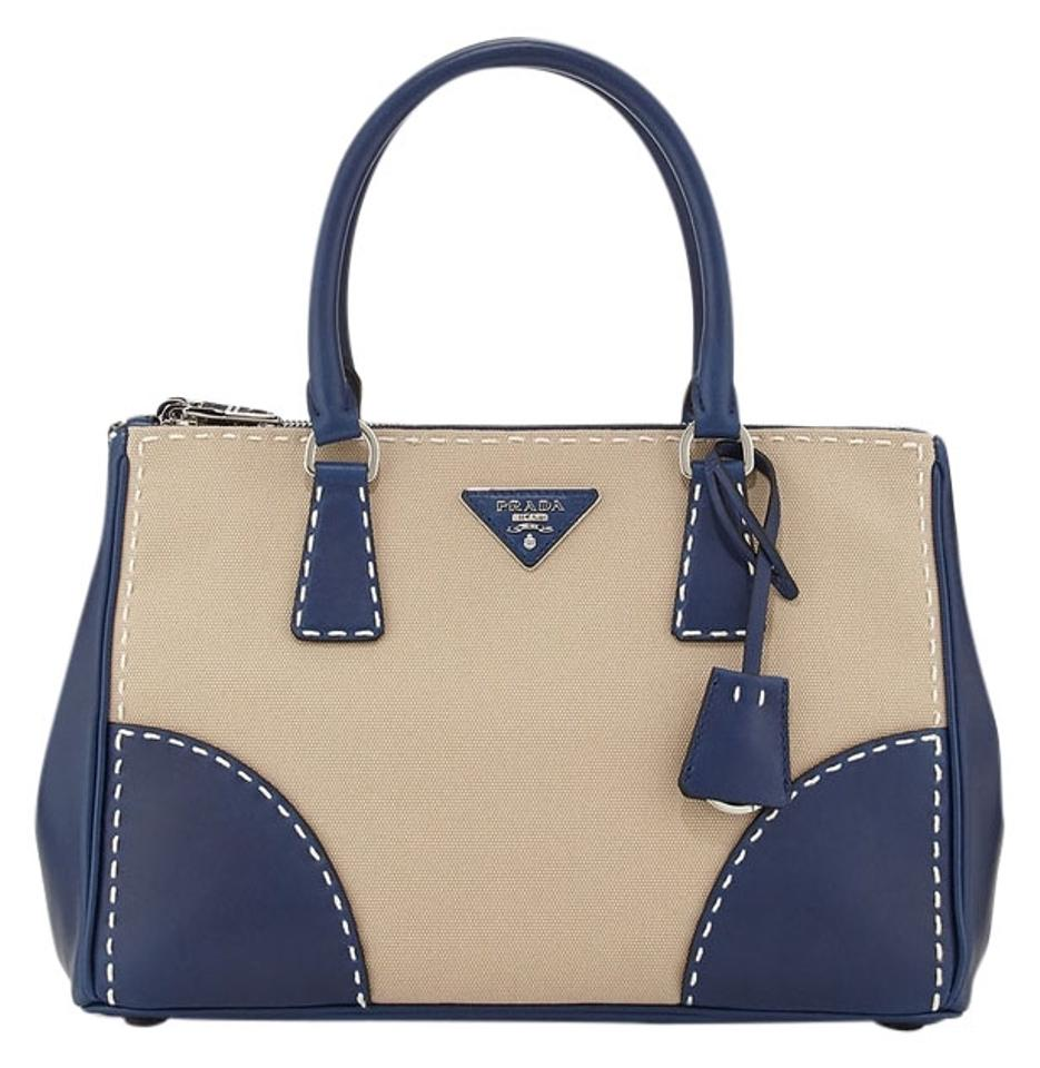 prada canapa leather tote
