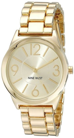 Preload https://img-static.tradesy.com/item/11590948/nine-west-gold-tone-women-s-bracelet-watch-0-1-540-540.jpg