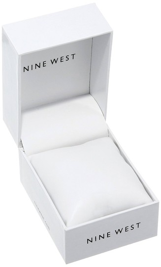 Nine West Nine West Women's Gold-Tone Bracelet Watch Image 1