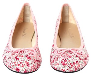 FRENCH SOLE BY APPOINTMENT TO LIBERTY Flower Canvas Ballet Flats