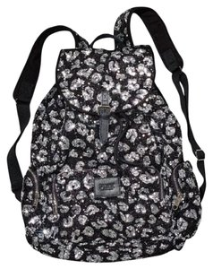 PINK Bookbag Limited Edition Canvas Sequin Backpack