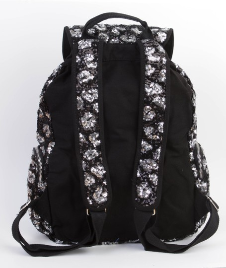 PINK Bookbag Limited Edition Canvas Sequin Backpack Image 2