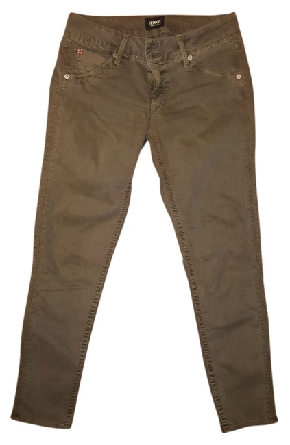Item - Olive Green Coated Skinny Jeans Size 28 (4, S)