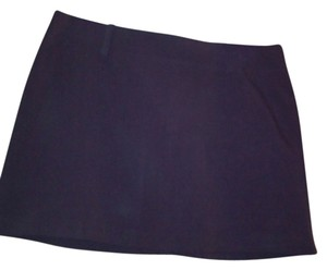 A. Byer Mini Skirt Purple