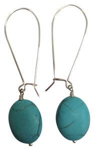 Stella & Dot Stella & Dot Turquoise Sea Drop Earrings