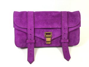 Proenza Schouler Ps1 Grape Clutch