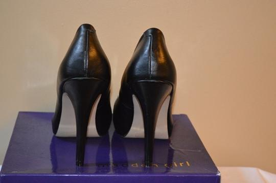 Madden Girl Black with Studds Pumps