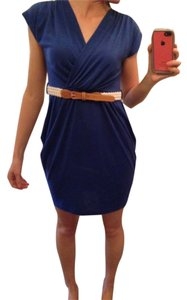 Rhapsody short dress Blue on Tradesy