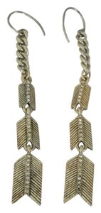 Other Sterling Silver Chevron Dangle Earrings