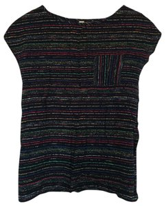 Final Touch Night Out Top Black multi