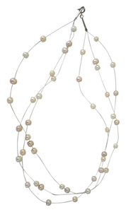 Other Floating Freshwater Pearl Necklace