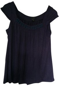 Banana Republic Swing Summer Top Grape