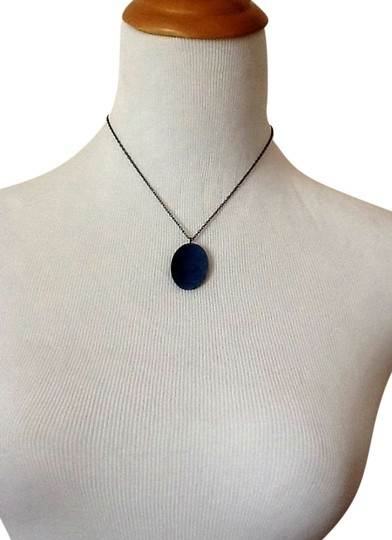 Express Blue Stone Necklace