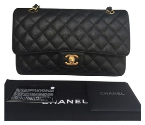 Chanel Medium Caviar Double Shoulder Bag