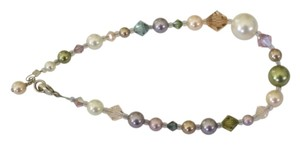 Other Pearl & Glass Multicolor Bracelet