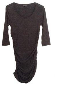 Express short dress Dark grey on Tradesy
