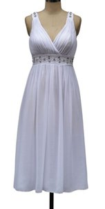 Chiffon Embellished Pleated Goddess Wedding Dress