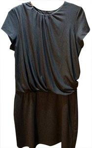 Susana Monaco short dress Heather charcoal gray on Tradesy