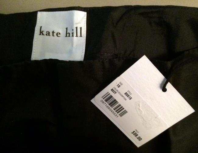 Kate Hill Straight Pants Navy Image 1