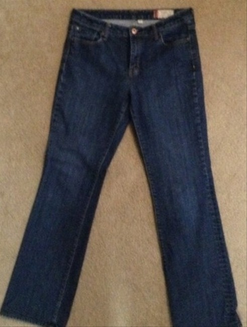 Gap Relaxed Fit Jeans-Dark Rinse