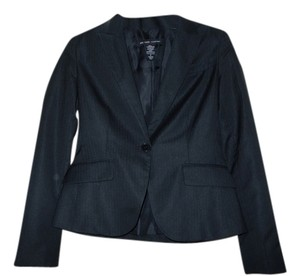 Jones New York Suit Jacket Pinestripe Black Pinestripe Blazer